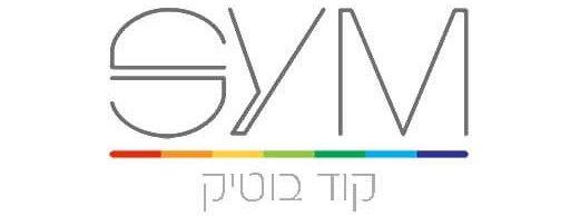 לוגו SYM קוד בוטיק